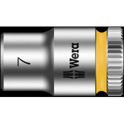 "Торцева головка Zyklop 1/4"" 8790 HMA, 05003506001, 7.0x23.0мм"