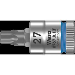 """Викруткова головка Zyklop 8767 A HF TORX® з приводом 1/4"""", з фіксуючою функцією, 05003367001, TX27×28.0мм"""