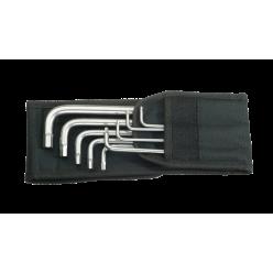 Набір Г-подібних ключів WERA, 3950/9 Hex-Plus Imperial Stainless 1, нержавіюча сталь, 05022721001