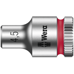 "Торцева головка Zyklop 1/4"" 8790 HMA, 05003502001, 4.5x23.0мм"
