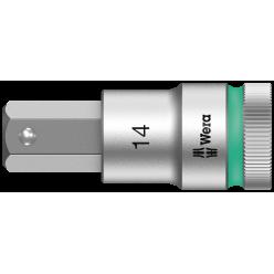 """Викруткова головка Zyklop 8740 C HF, з приводом 1/2"""", з фіксуючою функцією, 14.0x60.0мм, 05003827001"""