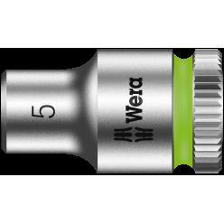 "Торцева головка Zyklop 1/4"" 8790 HMA, 05003503001, 5.0x23.0мм"