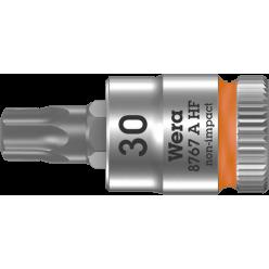"""Викруткова головка Zyklop 8767 A HF TORX® з приводом 1/4"""", з фіксуючою функцією, 05003369001, TX30×28.0мм"""