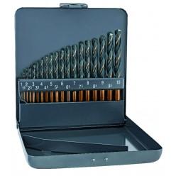 Набір свердл для металу ALPEN HSS Sprint Master KM 19, Ø1-10x0.5mm 0000810311100