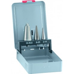 Набір конусних свердл ALPEN HSS Cobalt, Ø3-30mm, 3 одиниці 0072300003100