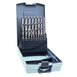 Набір свердл для металу ALPEN PRO HSS KP 19, Ø1-10x0.5mm 0000110319100