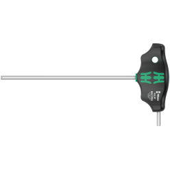 Шестигранна викрутка Wera з поперечною ручкою, 454 HF, з фіксуючою функцією, дюймова, 5/32×150мм, 05023361001
