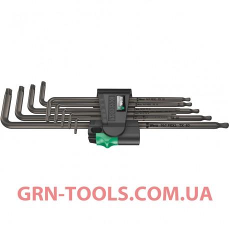 Набір Г-подібних подовжених ключів WERA 967/9 TX XL 1, 05024460001