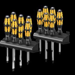 Набір викруток, викрутка-різець, підставка,  Wera Kraftform Big Pack 900, 05133285001