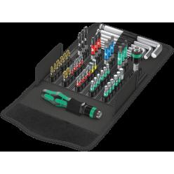 Викрутка з набором біт , та ключами HEX , WERA  05057460001  Kraftform Kompakt 100
