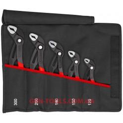 Набір ключів сантехнічних KNIPEX Cobra® 5 предметів 00 19 55 S5