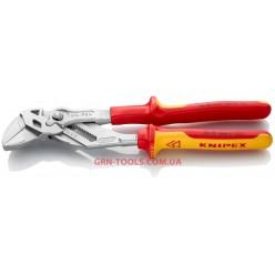 Кліщі переставні-гайковий ключ KNIPEX 86 06 250