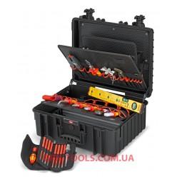 "Валіза з інструментами ""Robust34"" Electric 26 позицій KNIPEX 00 21 36"