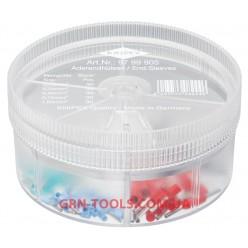 Набір ізольованих контактних гільз KNIPEX 97 99 905, (0.25-1.0 мм²)