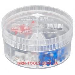 Набір ізольованих контактних гільз KNIPEX 97 99 906, (0.5-2.5 мм²)