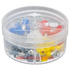 Набір ізольованих контактних гільз KNIPEX 97 99 907, (4.0-16.0 мм²)