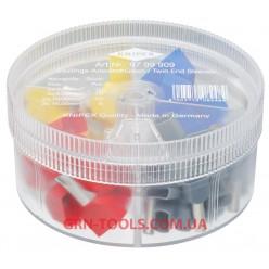 Набір ізольованих контактних гільз KNIPEX 97 99 909, (4.0-16.0 мм², подвійне підключення)