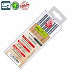 Запасні графітові жала 4050 для PICA Dry, спеціальна твердість Н, графіт 10шт