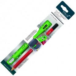 Кофр з точилкою ударостійкий для олівців, PICA Pocet 505/04 FOR ALL, (+1 універсальний олівець)