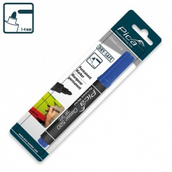 Маркер перманентний Pica Classic 520/41 Permanent Marker bullet tip, синій
