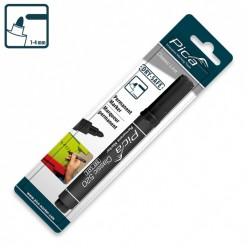 Маркер перманентний Pica Classic 520/46 Permanent Marker bullet tip, чорний
