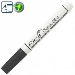 Рідкий промисловий маркер Pica Classic 524/46 Industry Paint Marker, чорний