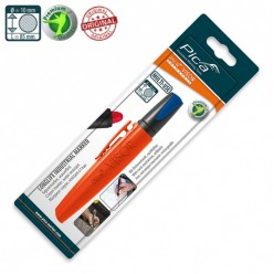 Сухий промисловий маркер PICA VISOR permanent Longlife Industrial Marker 990/41, голубий