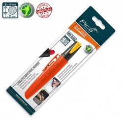 Сухий промисловий маркер PICA VISOR permanent Longlife Industrial Marker 990/44, жовтий
