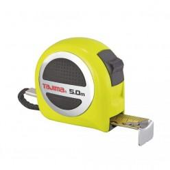 Рулетка Tajima Premium W-THICK Lock, водостойкая, GASP25, 5м×25мм