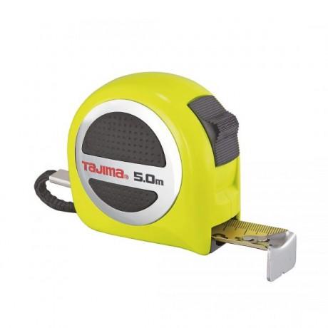 Рулетка Tajima Premium W-THICK Lock, водостійка, GASP25, 5м×25мм