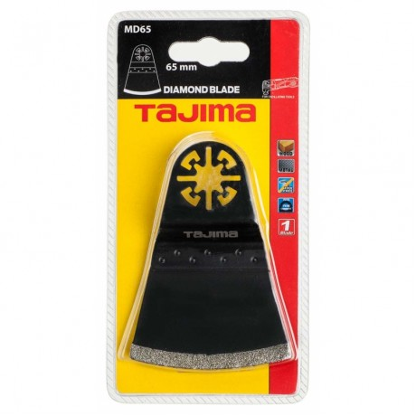 Пильне полотно для мультитула TAJIMA FLUSH CUTDIAMOND BLADE, MD65, 40×65мм