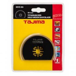 Пильне полотно для мультитула TAJIMA TITANIUM HSS HALF-MOON SAW BLADE, MHS80, 80мм