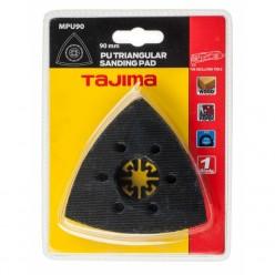Шліфувальне полотно для мультитула TAJIMA PU TRIANGULAR SANDING PAD, MPU90, 90мм