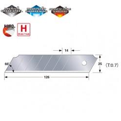 Сегментні леза 25 мм  TAJIMA DORA  Endura Blades CB65