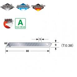 Леза сегментні 9мм TAJIMA Endura-Blade LB30-50H, 50 шт.