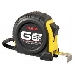 Рулетка будівельна ударостійка TAJIMA G-LOCK, G9P50MY - 5м×19мм