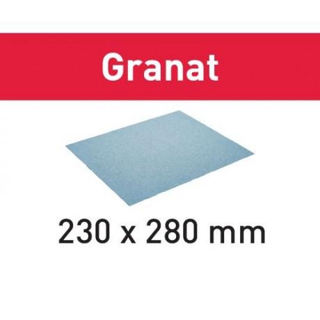 Festool Бумага шлифовальная 230x280 P80 GR/10 Granat , 201258