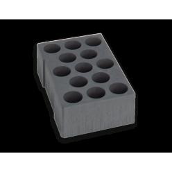 Комплект вкладу Sortimo для змінних картриджів для ящика L-BOXX 374 Trade, 1000010141