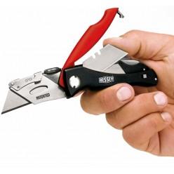 Складний ніж з магазином для лез ERDI BESSEY DBKPH-EU