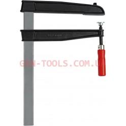 Струбцина для глибокого затиску з надійною дерев'яною ручкою BESSEY TGN30T20, 300×200мм