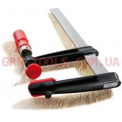 Струбцина з ковкого чавуну з надійною дерев'яною ручкою BESSEY TGRC15B5, 150×50мм