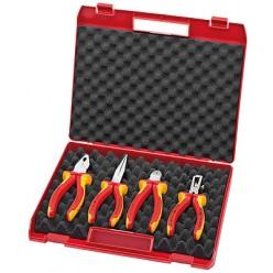 Валіза з електроізольованими інструментами KNIPEX 00 20 15
