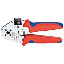 Інструмент для тетрагонального опресування нагострених контактів KNIPEX 97 52 63