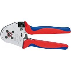 Інструмент для тетрагонального опресування нагострених контактів KNIPEX 97 52 65 A