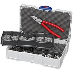 Набір кабельних наконечників для обпресування KNIPEX 97 90 05