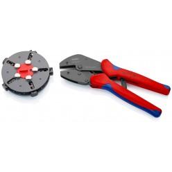 Кліщі обжимні зі змінними матрицями KNIPEX MultiCrimp® 97 33 02