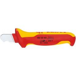 Ніж для видалення оболонки круглого кабелю KNIPEX 98 53 03
