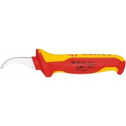 Ніж для видалення оболонки кабелю з секторними жилами KNIPEX 98 53 13