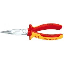 Плоскі круглобуці з ріжучими кромками KNIPEX 25 06 160