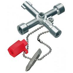 Ключ для електрошаф KNIPEX 00 11 03